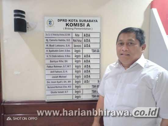 Banyak Plt. di Pemkot Surabaya Membuat Kinerja Tidak Maksimal