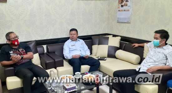 Kembali Zona Merah, Komisi A DPRD Jatim Tinjau KPU Surabaya