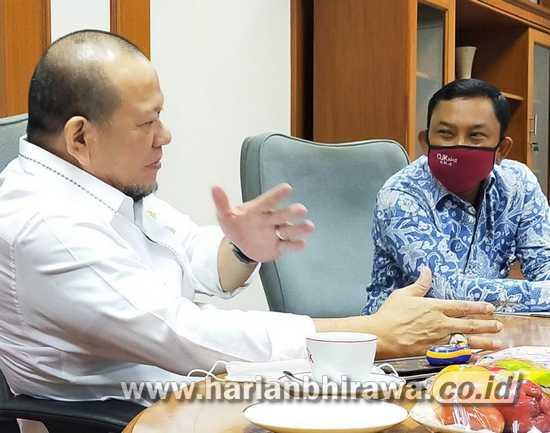 Pantau Restrukturisasi Kredit UMKM, Ketua DPD RI Datangi OJK Jatim
