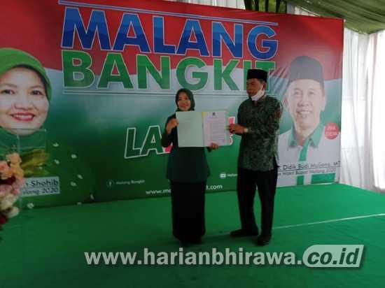 Pilbup Malang 2020, Lathifah Optimis Kalahkan Incumbent Sanusi
