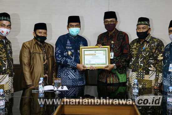 Baznas Kabupaten Gresik Terima Penghargaan Kemenag Jatim