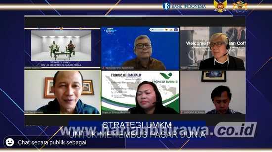 Kadin Jatim Berbagi Tips Strategi Menangkan Pasar Ekspor di Era New Normal