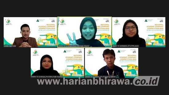 Citi Indonesia Berikan Program YEI ke 8.221 Pelajar Surabaya dan Sidoarjo