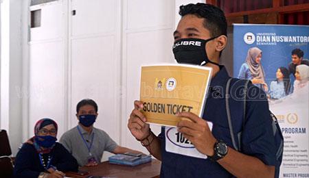130 Calon Mahasiswa Berebut Beasiswa Dari Wali Kota Kediri