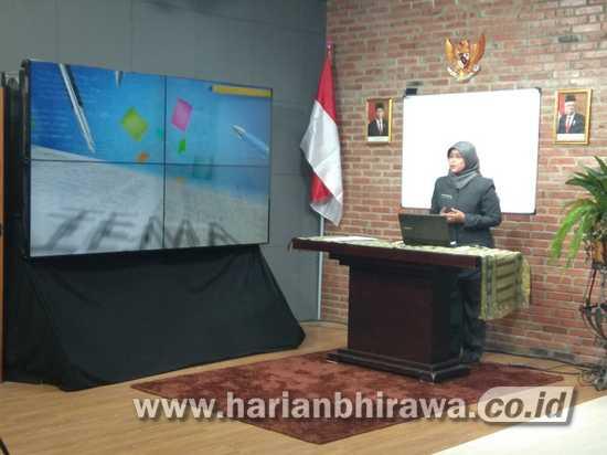 Pelajar SD dan SMP Surabaya Difasilitasi Sistem Pembelajaran Melalui Televisi