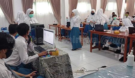 Pemilihan Ketua OSIS SMAN 3 Dilakukan Voting Secara Online