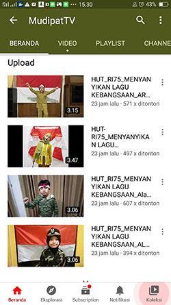 Peringati HUT ke-75 RI, SD Mudipat Surabaya Gelar Berbagai Lomba Daring