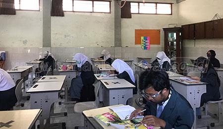 Wajah Ceria Siswa Berkesempatan Belajar Tatap Muka