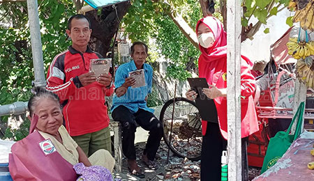 Putus Penyebaran Covid-19, Untag Laksanakan KKN Kampung Tangguh