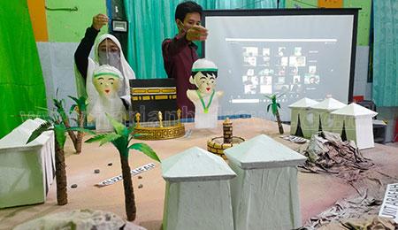 Peringati Idul Adha, SD Muhammadiyah 2 Surabaya Gelar Manasik Haji Virtual