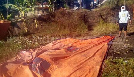 Tenda Darurat SDN Resongo IV Roboh Diterjang Angin