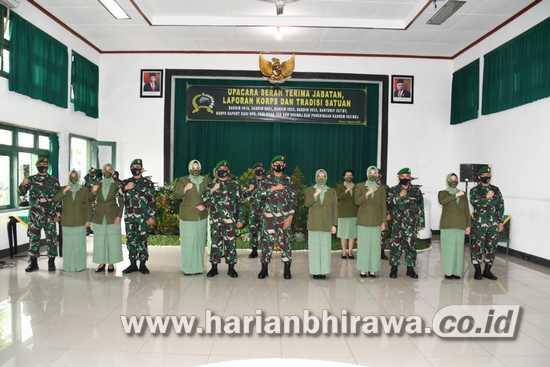 Komandan Kodim 0833 Kota Malang Diserahterimakan