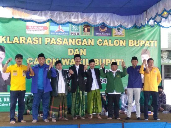 Enam Parpol Deklarasi Usung Fattah Jasin dan Ali Fikri di Pilbup Sumenep