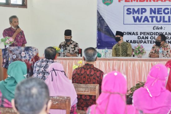 Siswa SMP di Watulimo Kabupaten Trenggalek Bisa Segera Sekolah