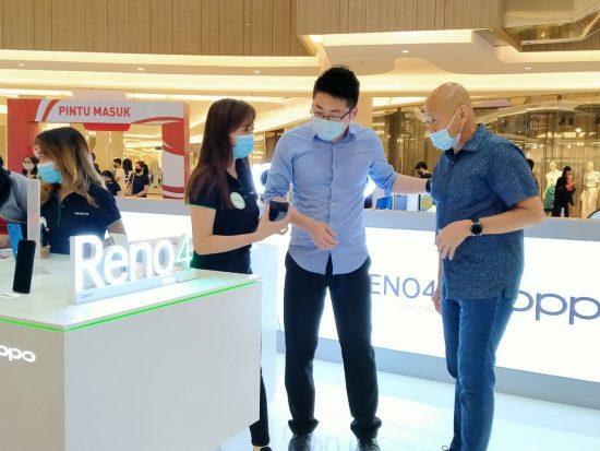 Optimis Kuasai 30 Persen Pasar  Ponsel Nasional, Oppo Luncurkan Reno 4