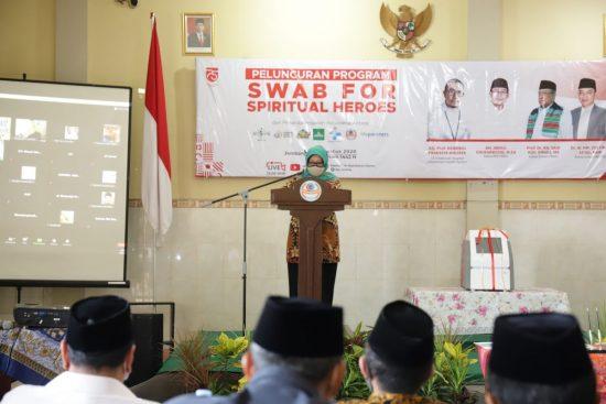 Bupati Jombang Apresiasi Peluncuran Swab For Spiritual Heroes di RS Unipdu Medika