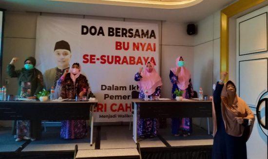 Ucapkan Bismillah, Bu Nyai se-Surabaya Ikrar Dukung Eri Cahyadi Jadi Wali Kota Penerus Risma