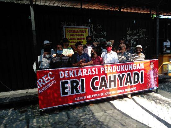 Elemen Kota Surabaya Deklarasi Dukung Eri Cahyadi