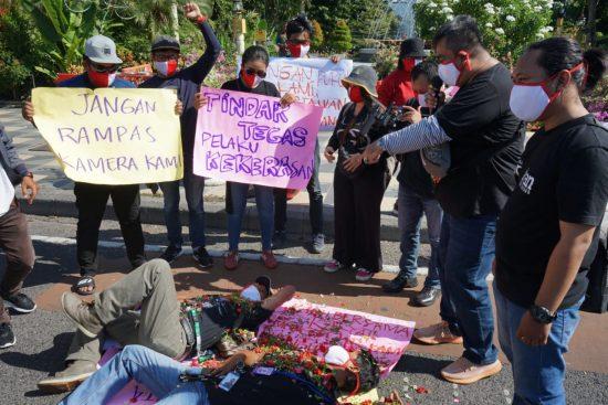 IJTI Surabaya Kecam Aksi Pemukulan dan Perampasan Kamera Jurnalis di Lampung