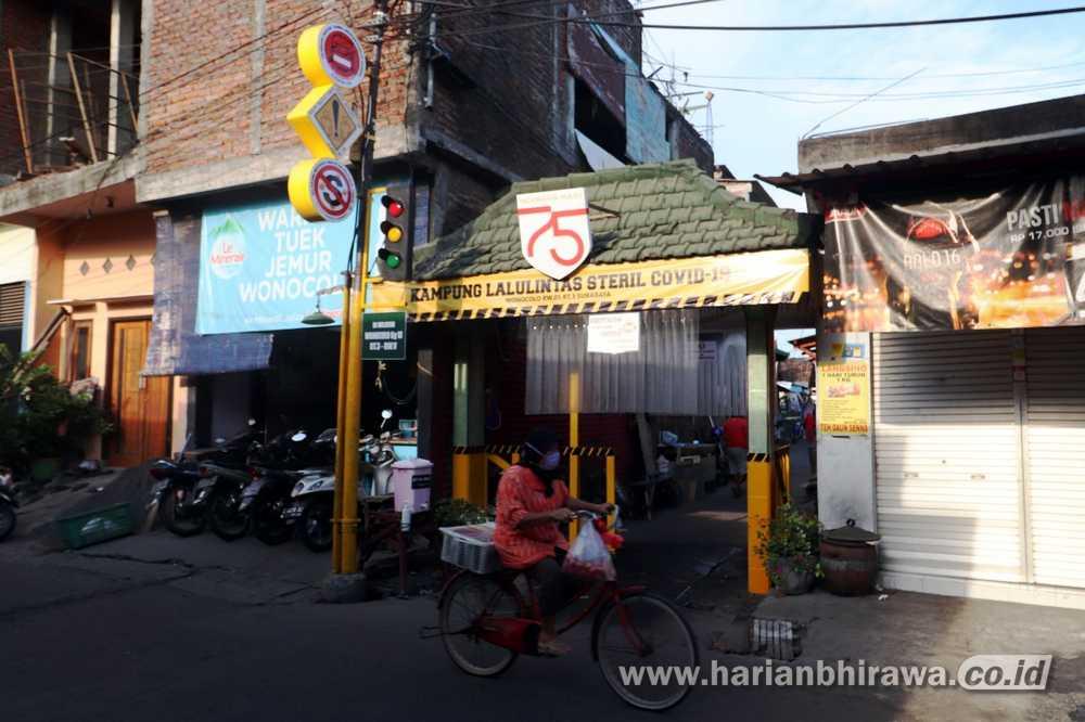 Inovasi Kampung Tangguh,  Warning Covid-19