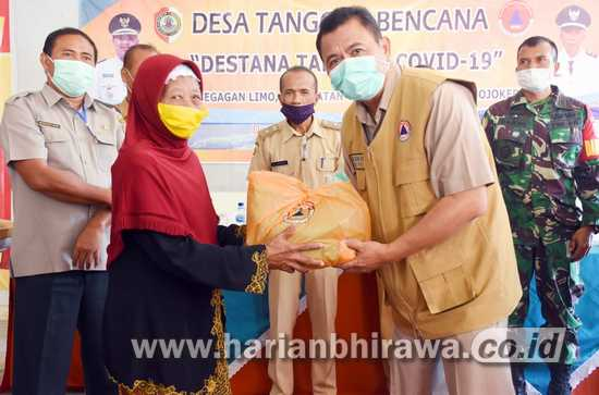 Bupati Mojokerto Jadikan Desa Tangguh Bencana dan Tanggap Covid-19