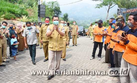 Pandemi Covid-19, Bupati Mojokerto Jamin Pembangunan Desa Tetap Berlanjut