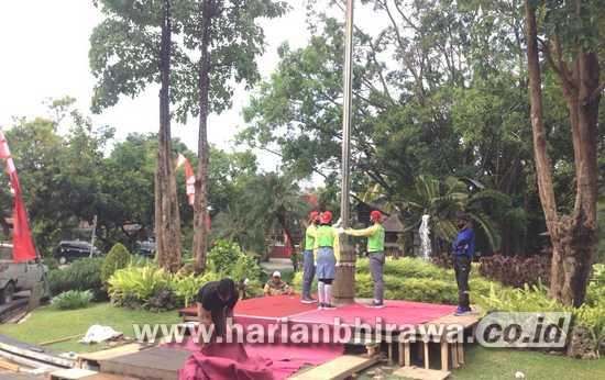 Upacara Bendera 17 Agustus di Tulungagung Digelar di Pendapa Kabupaten