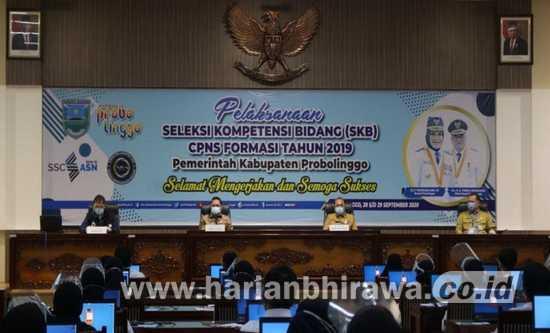 1.745 Orang Ikuti Seleksi SKB CPNS Kabupaten Probolinggo