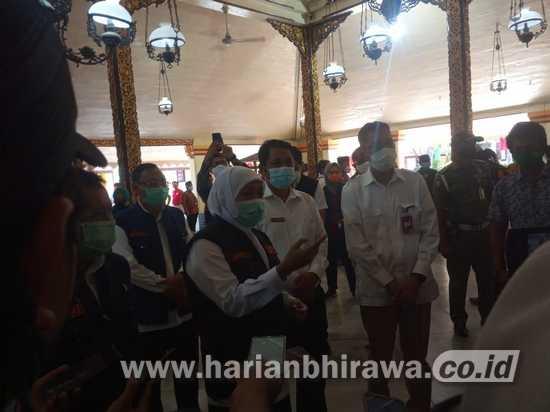 Gubernur Khofifah Klaim Kasus Covid-19 di Jatim Terendah di 4 Propinsi