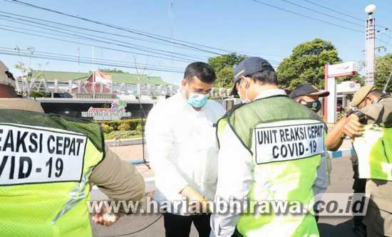 Wali Kota Probolinggo Luncurkan Tim URC Covid-19