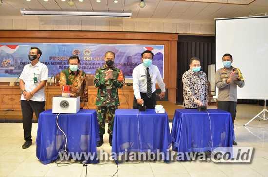47 Kades Dukung Program Trijuang Pertanahan di Kabupaten Gresik