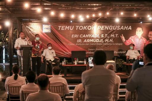 Surabaya Kota Berkelas Dunia Ramah Dunia Usaha, APINDO Sambut Hangat Eri Cahyadi