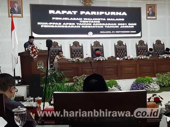 Sutiaji: Prediksi PAD Kota Malang Tahun 2021 Menurun