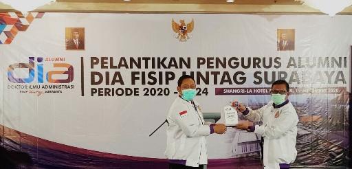 Alumni DIA Untag Surabaya Dilantik, Membangun Indonesia Secara Keseluruhan