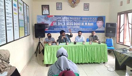 Masa Reses, Agus Dono Disambati Harga Jual Kopi Anjlok di Malang Raya