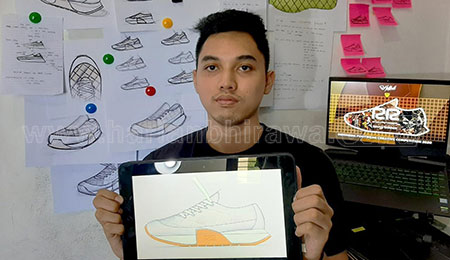 Manfaatkan Limbah Kulit, Daur Ulang Jadi Sepatu Ramah Lingkungan