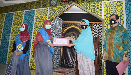 Dua Siswa SD Musix Surabaya Raih Selempang Generasi Quranic