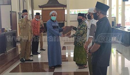 663 Lembaga Madrasah Diniyah Terima BOP dan Alat Covid-19
