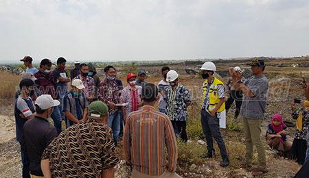 Diprotes Warga, Komisi II DPRD Tuban Kunjungi Tambang Semen Indonesia