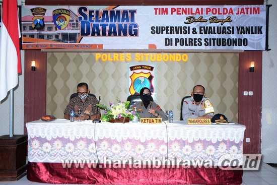 Polda Jatim Supervisi Pelayanan Publik dan Zona Integritas di Situbondo