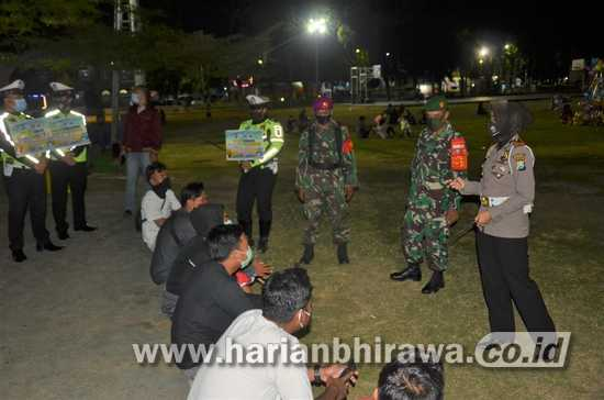 Gencar Operasi Yustisi Prokes Tekan Sebaran Covid-19 di Situbondo