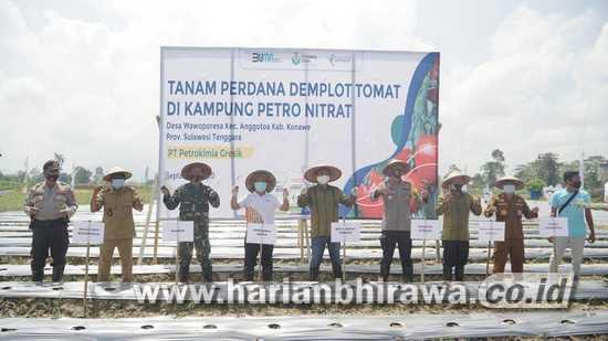 Pertrokimia-Pemda Konawe Bentuk Kampung Petro Nitrat Jaga Ketahanan Pangan