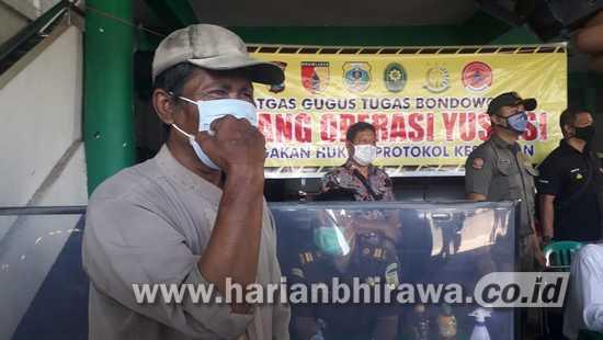 Selain Didenda, Pelanggar Prokes Distempel di Kabupaten Situbondo