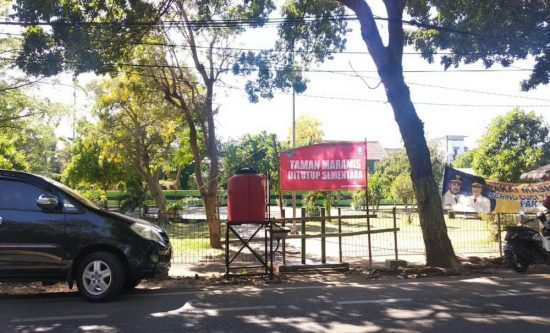 Jadi Tempat Mesum, Wali Kota Probolinggo Tutup Taman Maramis