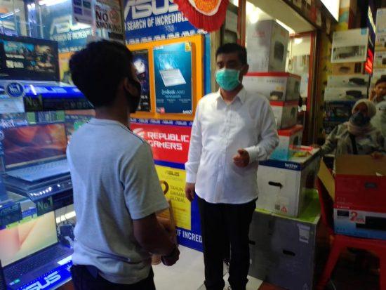 Bacawawali Mujiaman Serap Aspirasi Pedagang Hi Tech Mall Surabaya