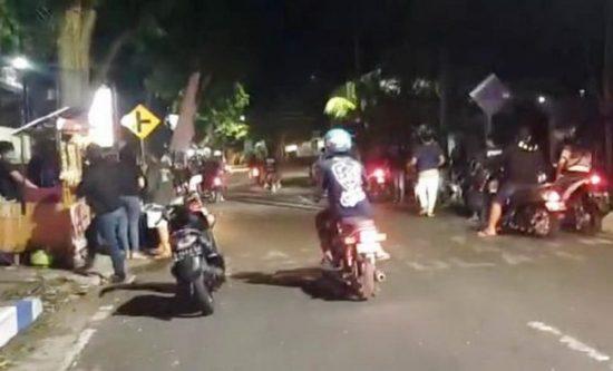 Marak Balap Lari Liar di Jalan dr Saleh Kota Probolinggo