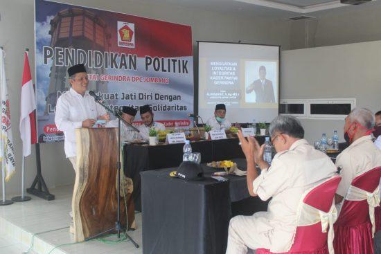 Gerindra se-Jawa Timur Ditargetkan Miliki Saksi pada Akhir 2020