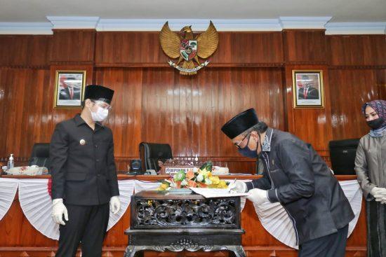 P-APBD Ditetapkan, Ketua DPRD Trenggalek Sebut Banyak Koreksi Terkait Refokusing