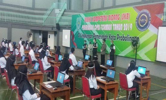 361 Peserta SKB Dilaksanakan di GOR Mastrip Kota Probolinggo