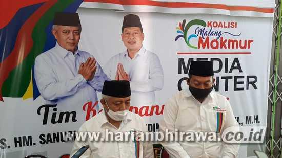 Paslon SanDi Peroleh Nomor Urut Satu, Optimis Menangkan Pilkada Kabupaten Malang